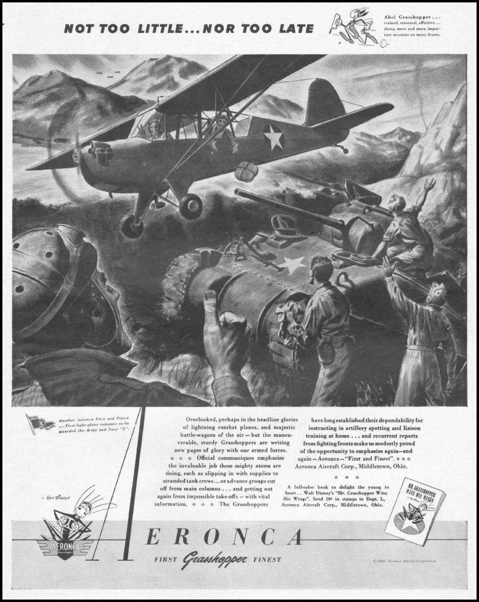 AERONCA GRASSHOPPER LIFE 10/25/1943 p. 83