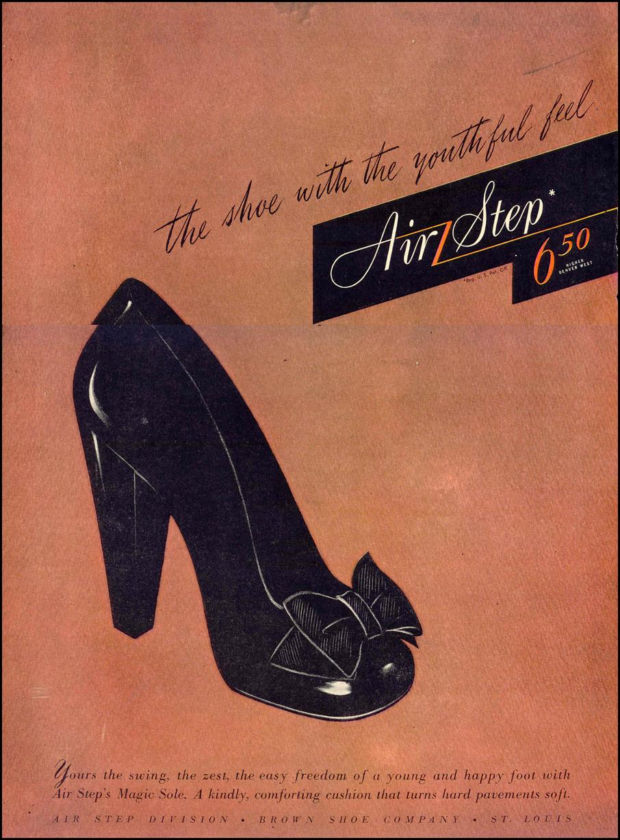 AIR STEP SHOES LIFE 02/14/1944 p. 44