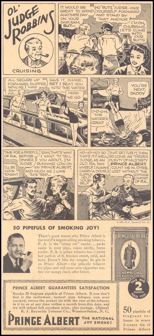 PRINCE ALBERT PIPE TOBACCO LIBERTY 08/08/1936 p. 17