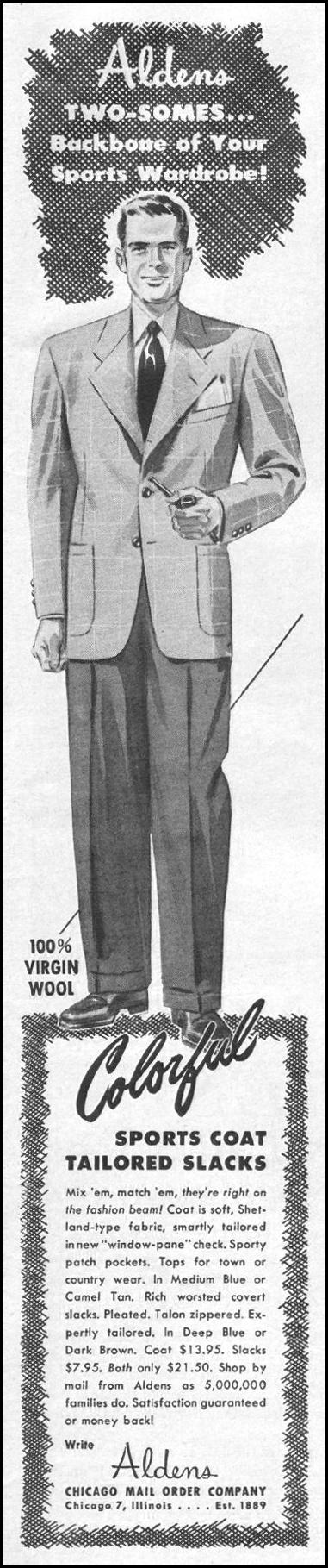 ALDENS SPORTS COATS LIFE 03/12/1945 p. 11