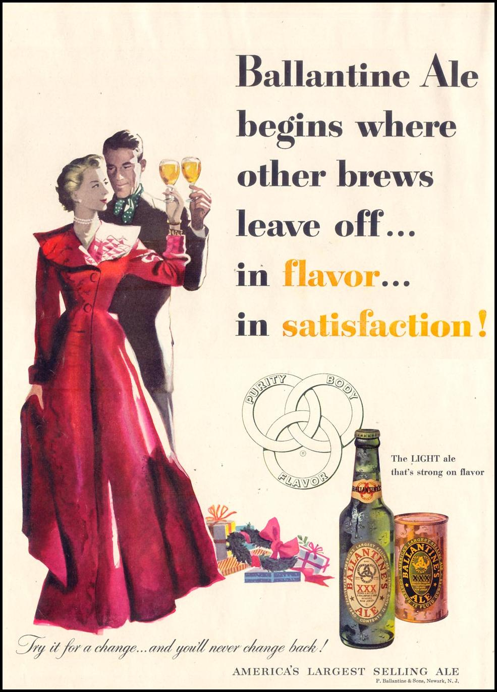 BALLANTINE ALE