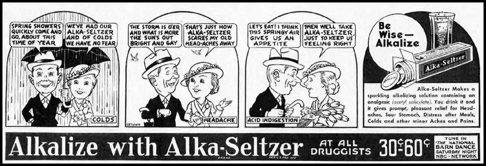ALKA-SELTZER BETTER HOMES AND GARDENS 05/01/1936 p. 114