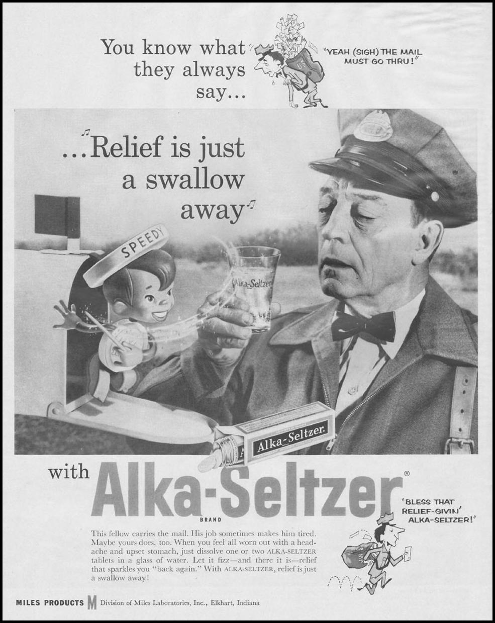 ALKA-SELTZER LIFE 11/24/1958