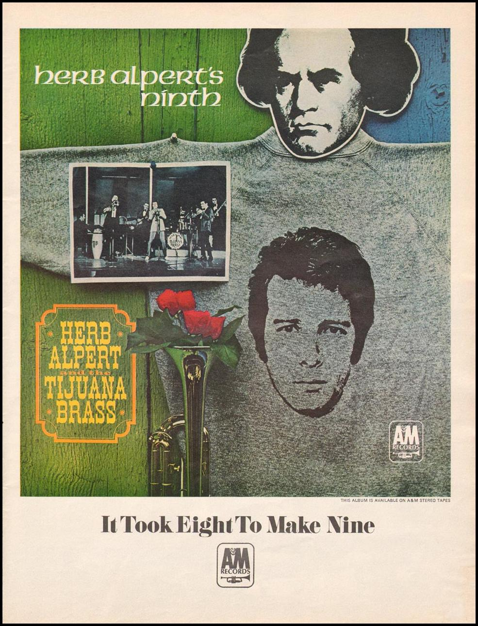 HERB ALPERT AND THE TIJUANA BRASS LIFE 12/22/1967 p. 39