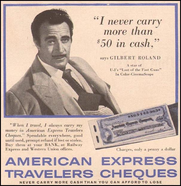 AMERICAN EXPRESS TRAVELERS CHEQUES TIME 05/05/1958 p. 60