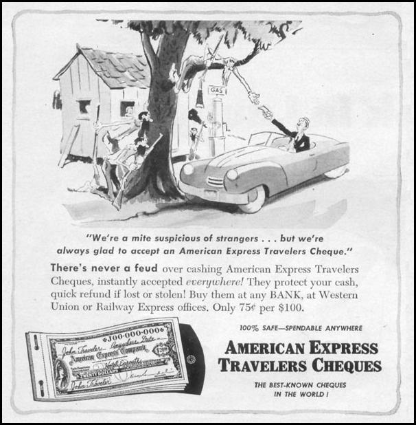 AMERICAN EXPRESS TRAVELERS CHEQUES TIME 08/17/1953 p. 38