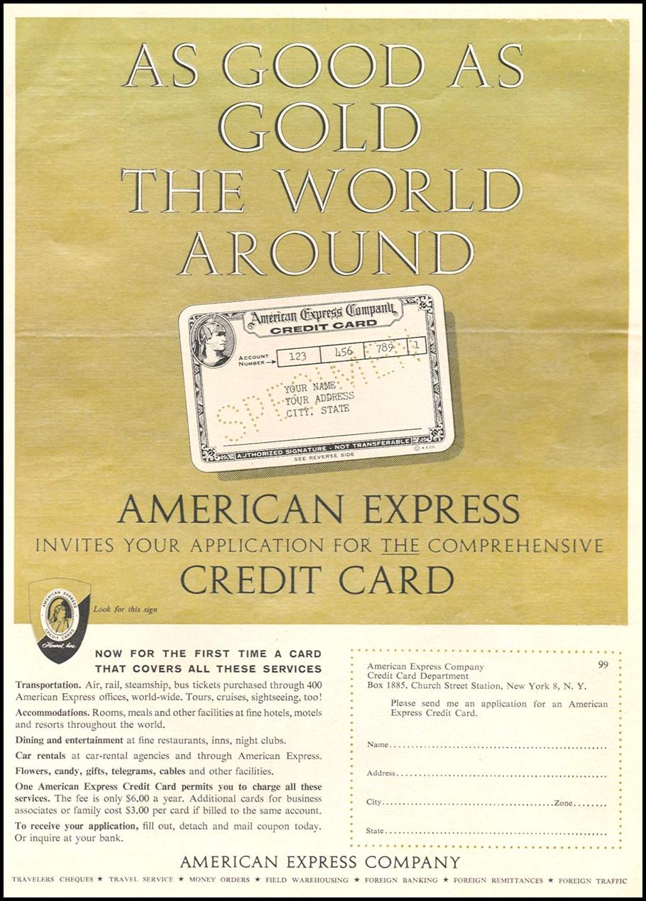 AMERICAN EXPRESS CREDIT CARD TIME 09/15/1958 p. 31