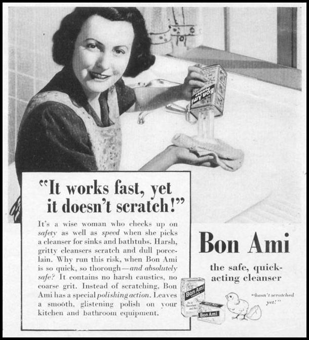 BON AMI POWDER WOMAN'S DAY 04/01/1941 p. 67