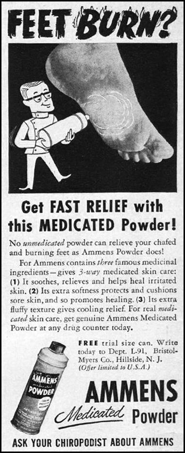 AMMENS MEDICATED POWDER LIFE 09/03/1951 p. 38