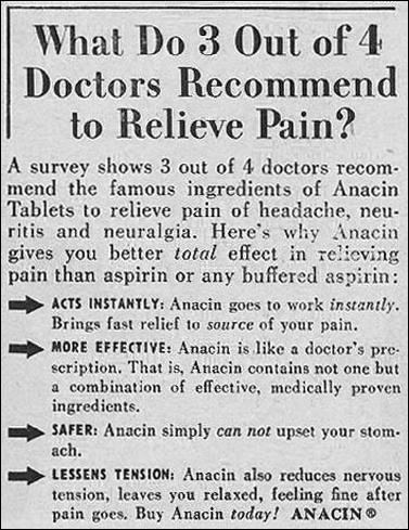 ANACIN ANALGESIC TABLETS LIFE 07/01/1957 p. 104