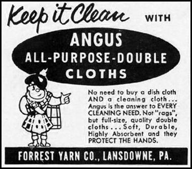 ANGUS ALL PURPOSE DOUBLE CLOTHS