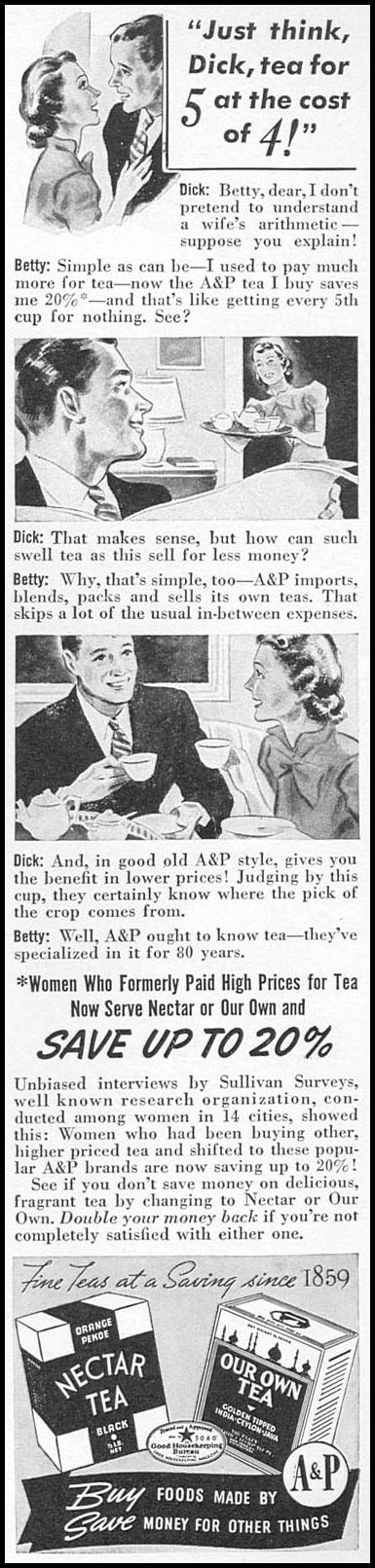 A & P TEA WOMAN'S DAY 05/01/1940 p. 5