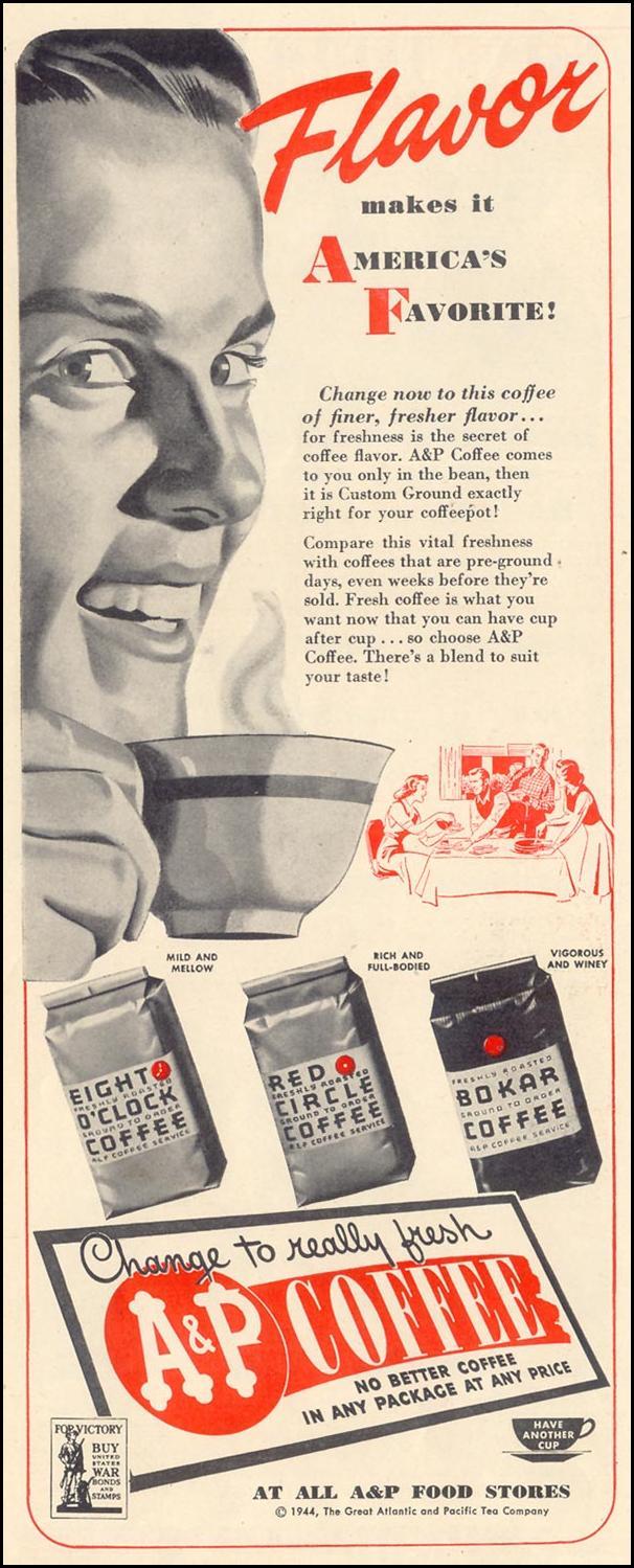 A & P COFFEE LIFE 02/21/1944 p. 126
