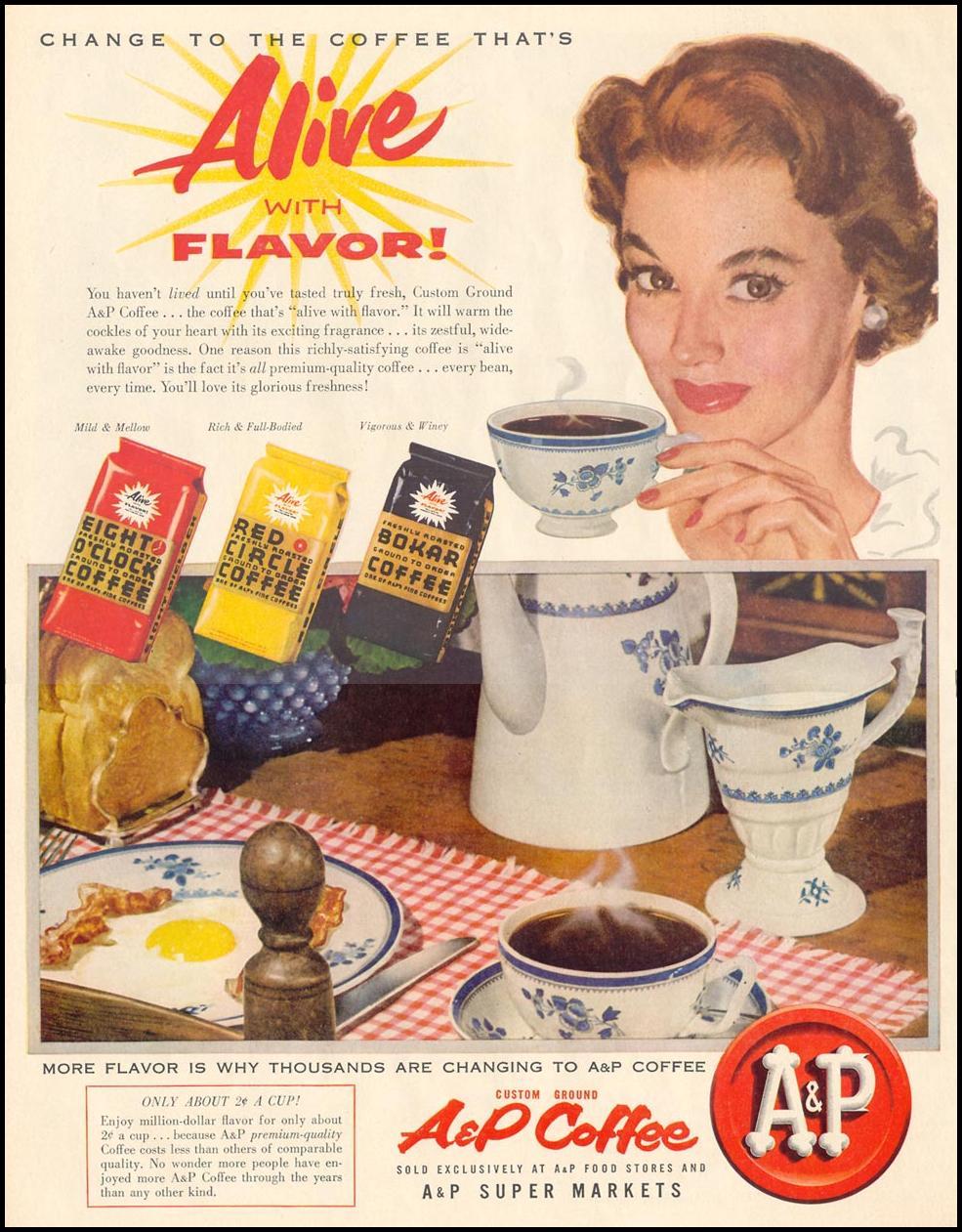 A & P COFFEE LIFE 11/14/1955 p. 94