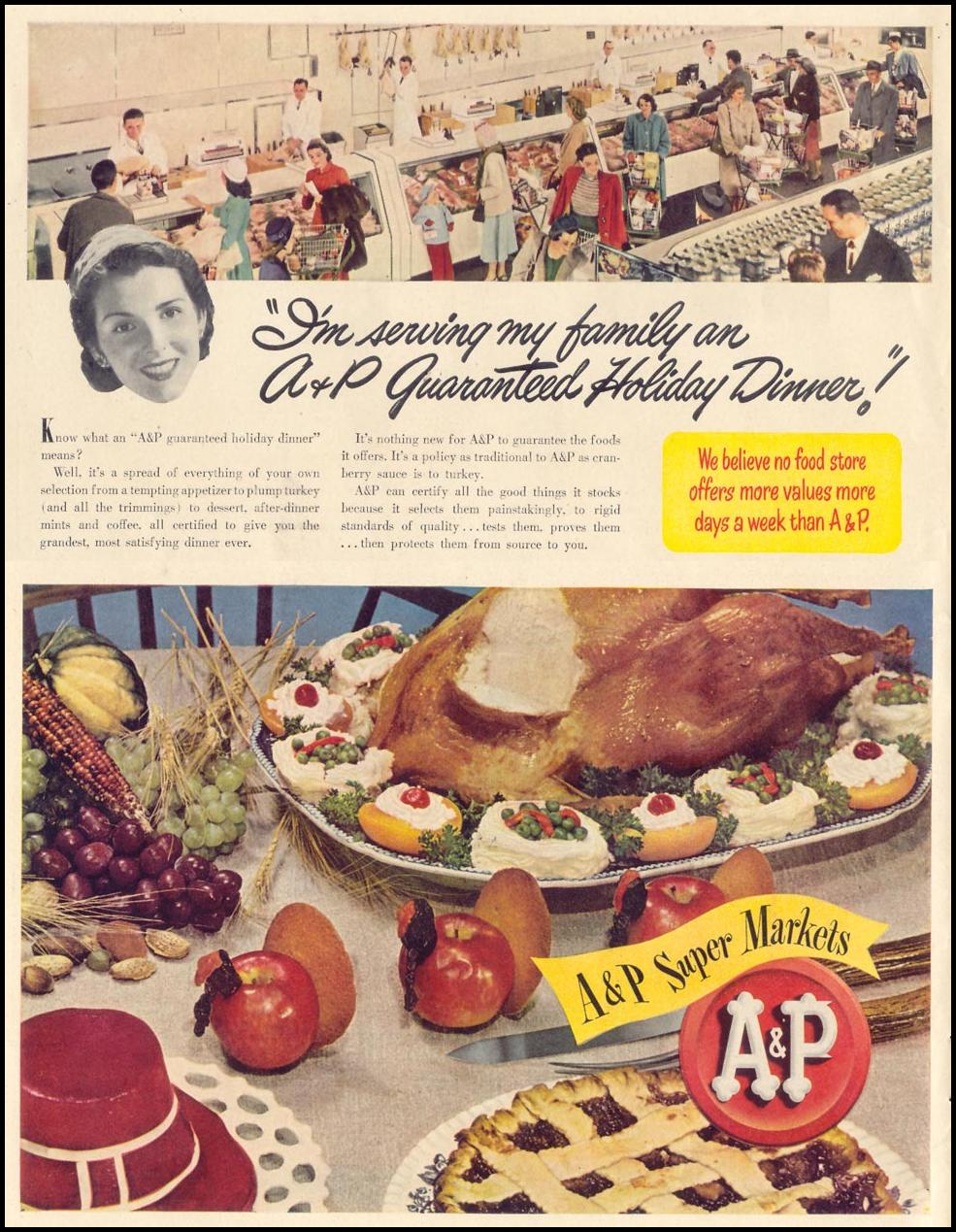 A & P SUPER MARKETS LIFE 11/15/1948
