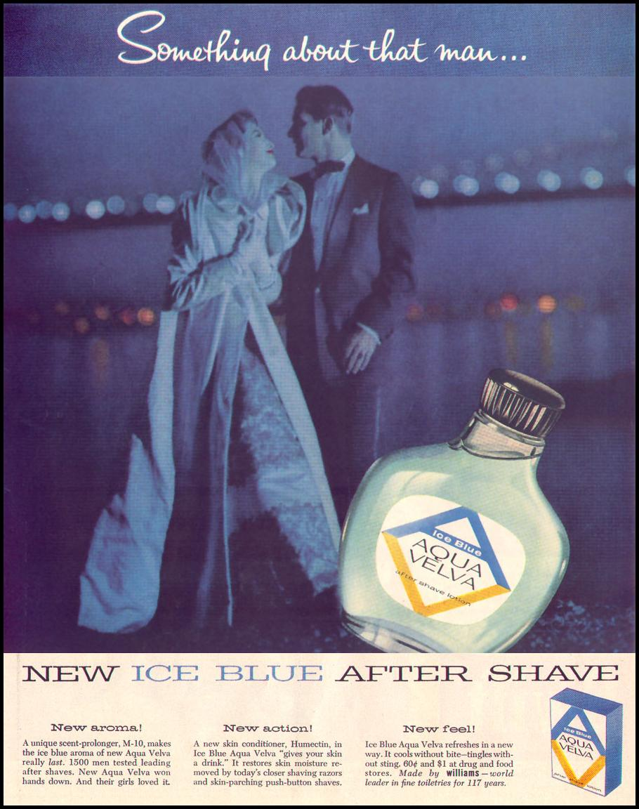 AQUA VELVA AFTER-SHAVE LOTION LIFE 04/08/1957 p. 108