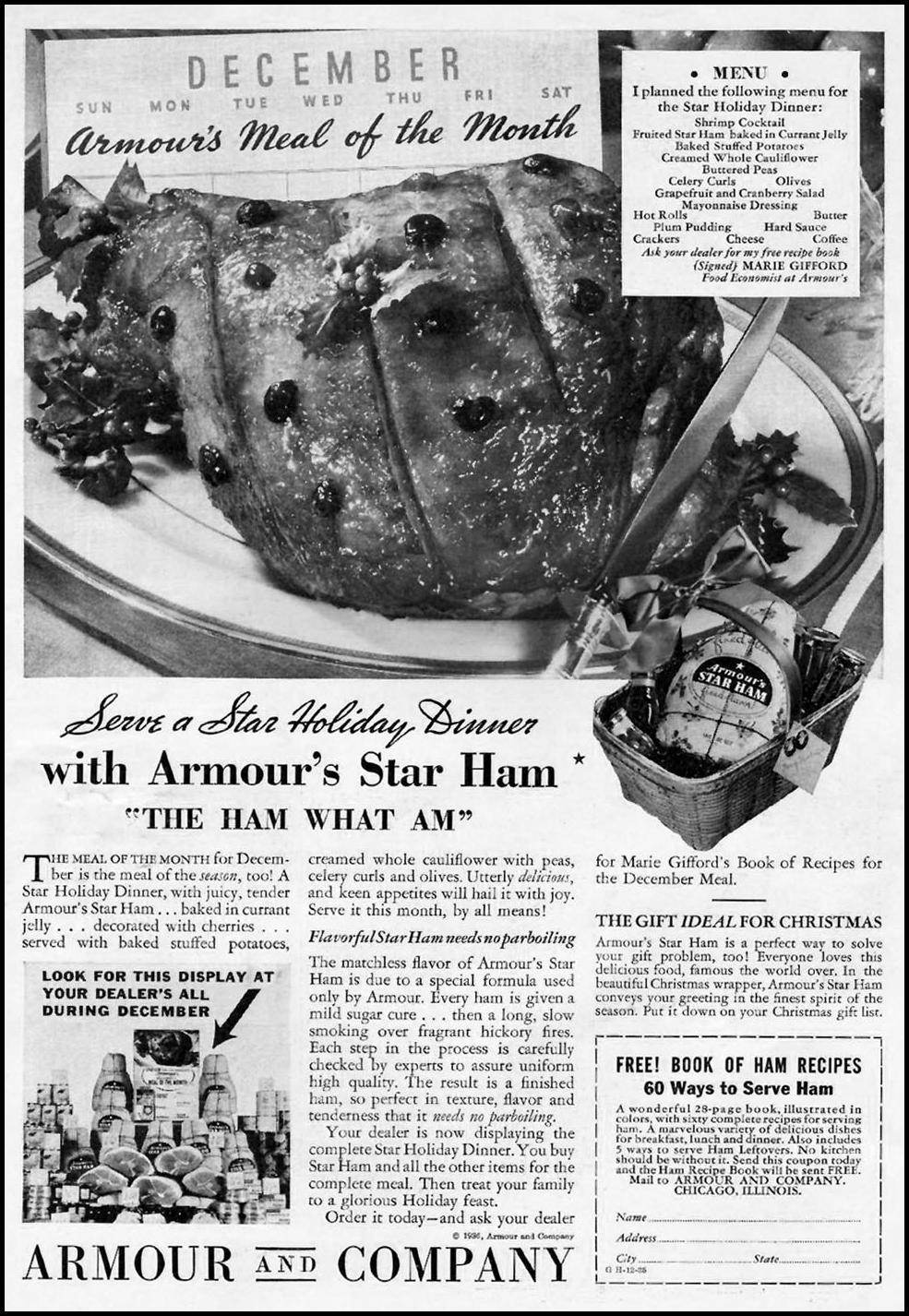 ARMOUR STAR HAM