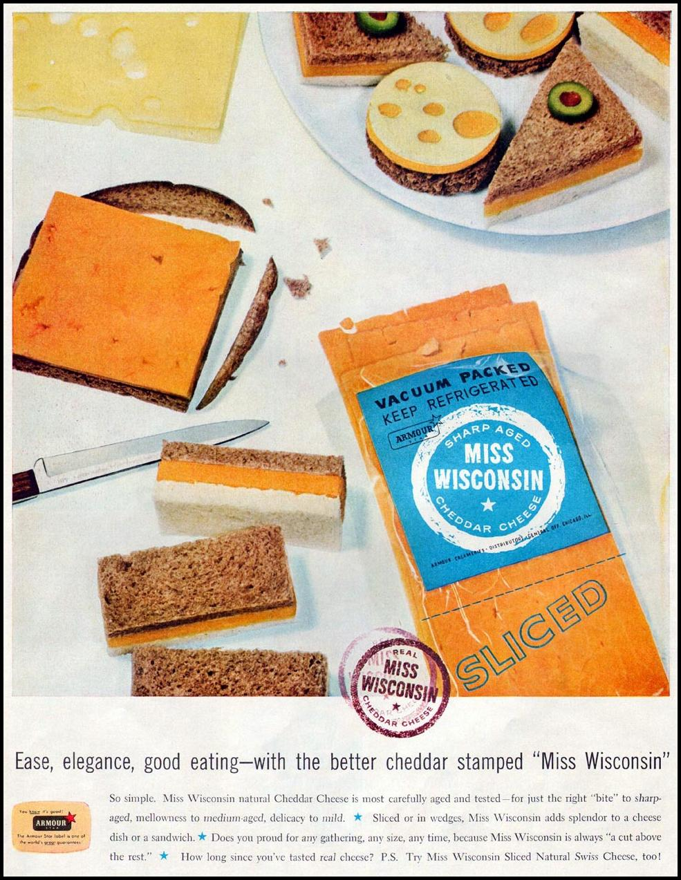 MISS WISCONSIN CHEESE LIFE 04/01/1957 p. 56