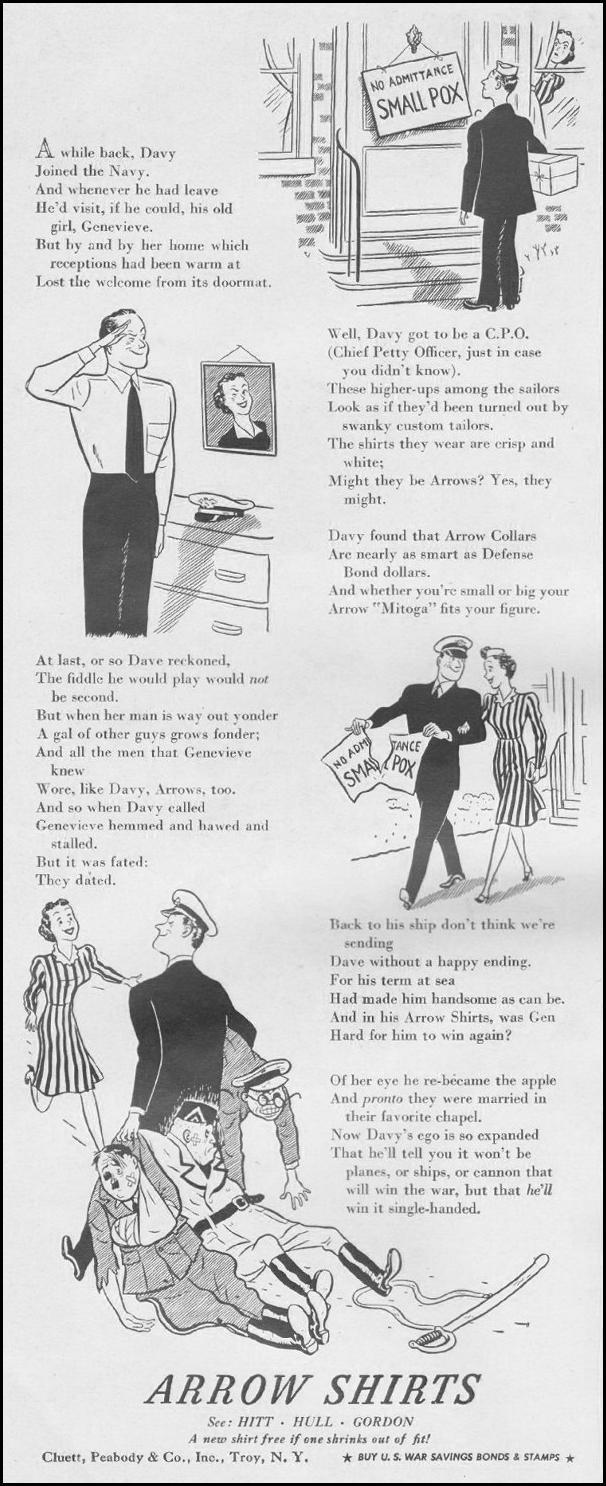 ARROW SHIRTS LIFE 06/22/1942 p. 2