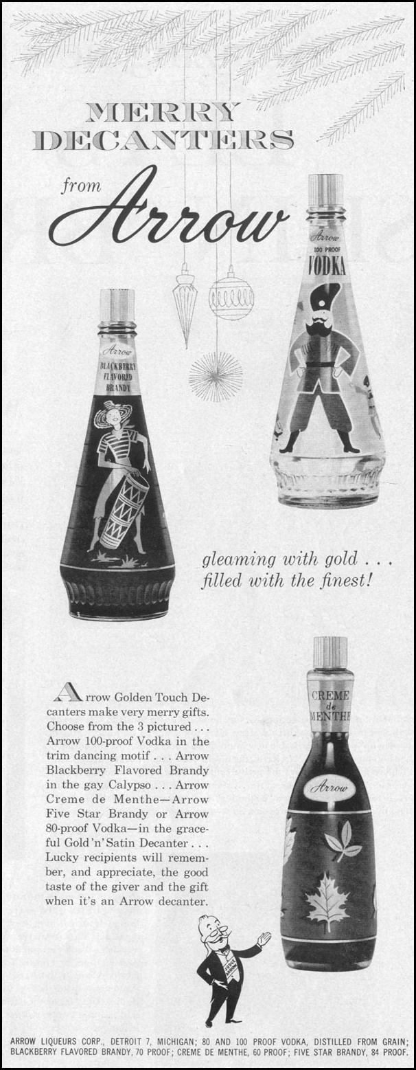 ARROW LIQUEURS LIFE 12/14/1959 p. 7