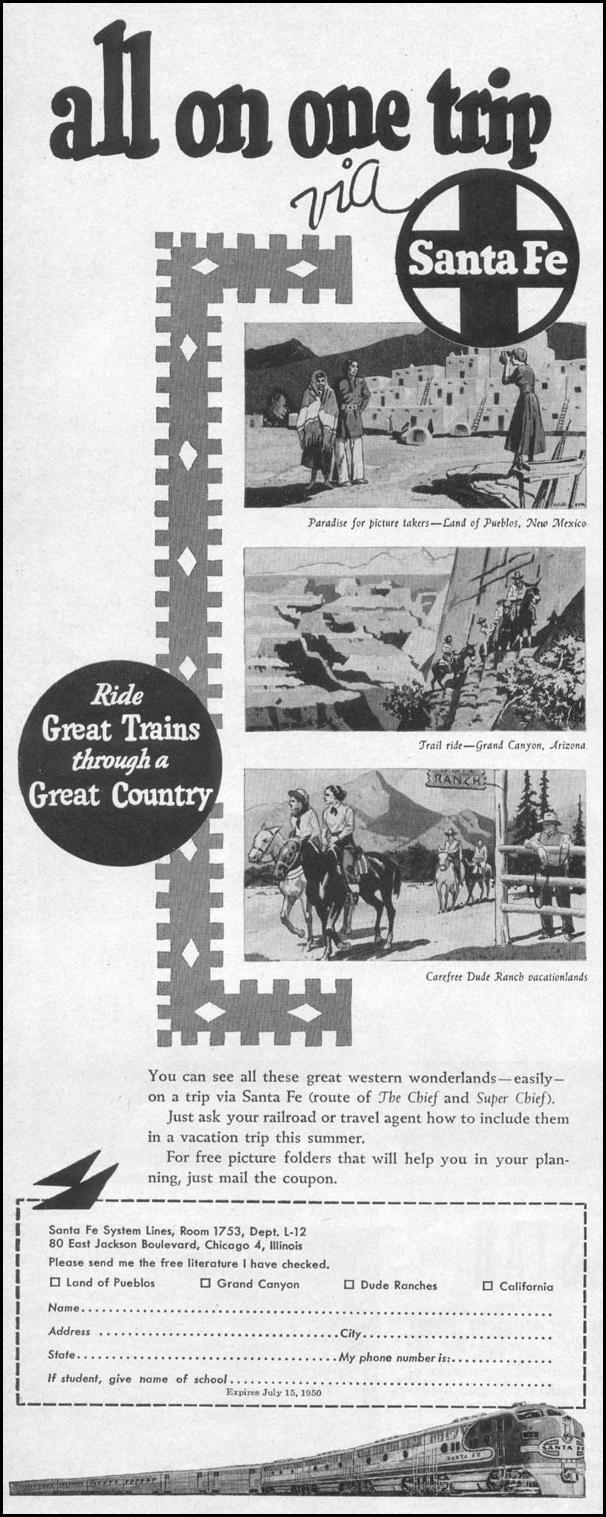 RAIL TRAVEL LIFE 04/17/1950 p. 76