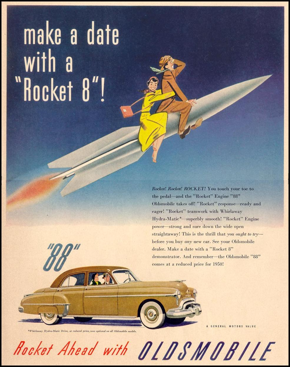OLDSMOBILE AUTOMOBILES LIFE 04/17/1950 p. 21
