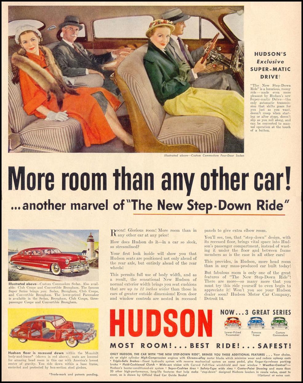 HUDSON AUTOMOBILES LIFE 04/17/1950 p. 79