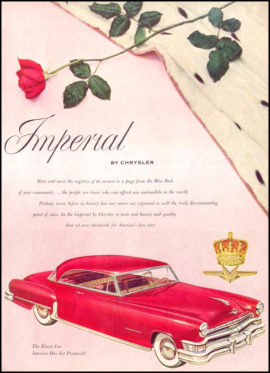CHRYSLER AUTOMOBILES LIFE 06/16/1952 p. 11