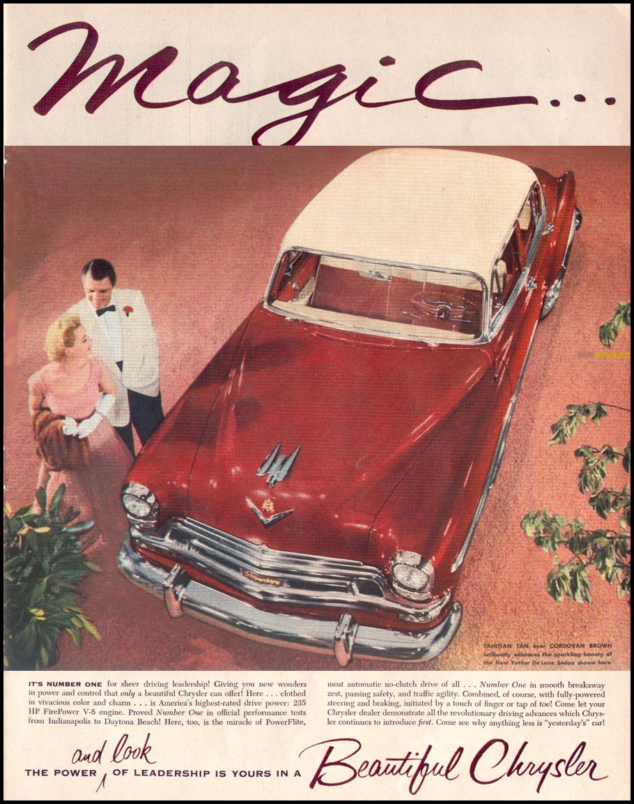 CHRYSLER AUTOMOBILES LIFE 07/12/1954 p. 81