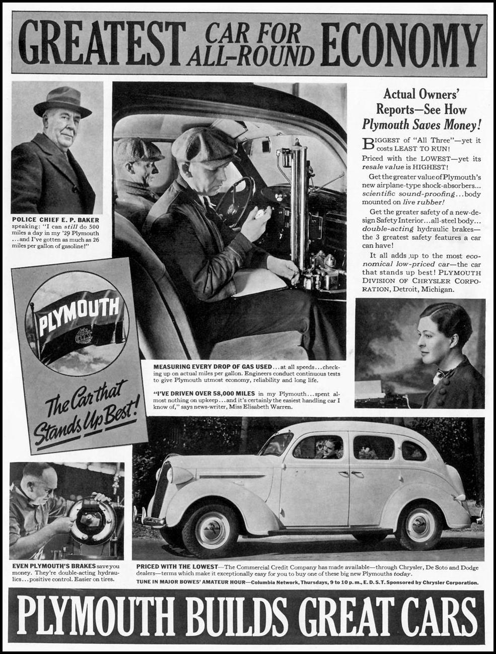 PLYMOUTH AUTOMOBILES LIFE 08/02/1937 p. 1