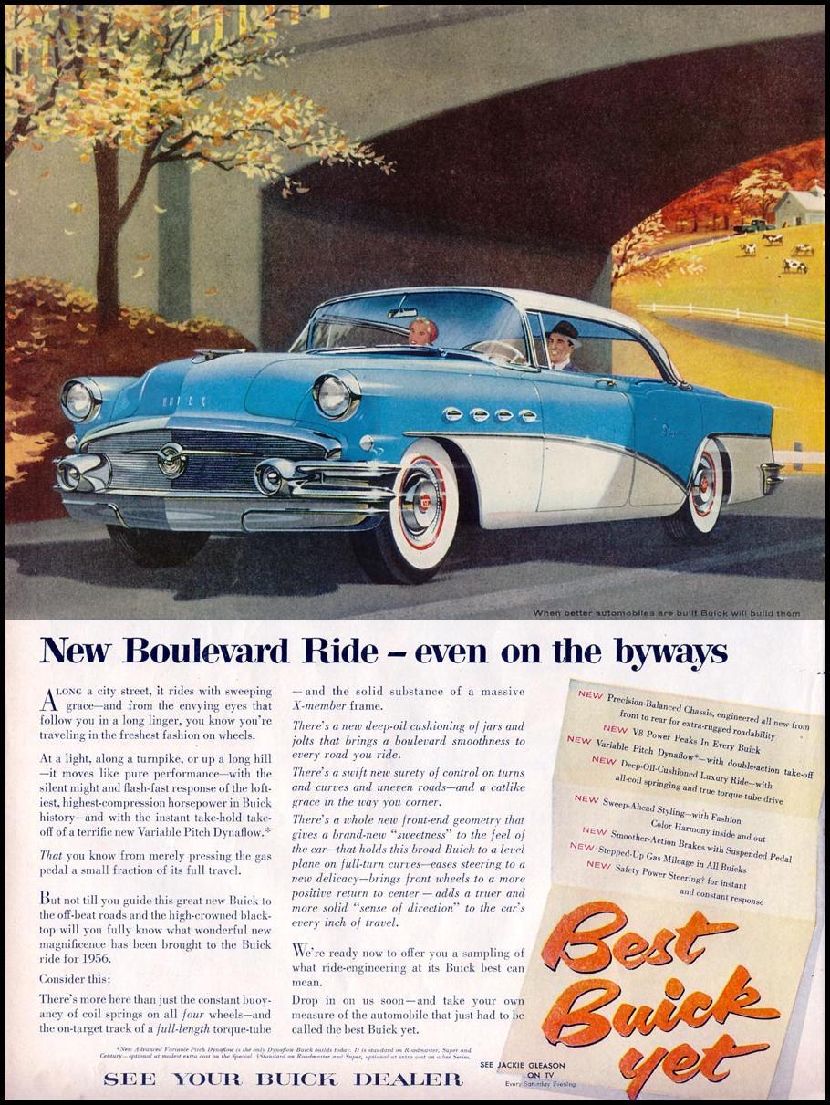 BUICK AUTOMOBILES LIFE 11/14/1955 p. 118