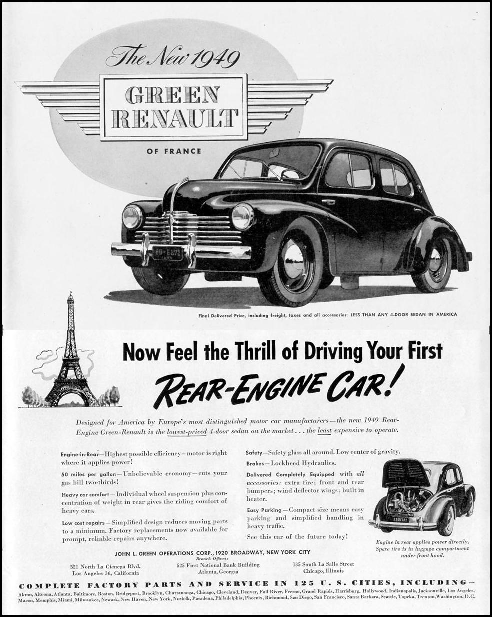 RENAULT AUTOMOBILES
