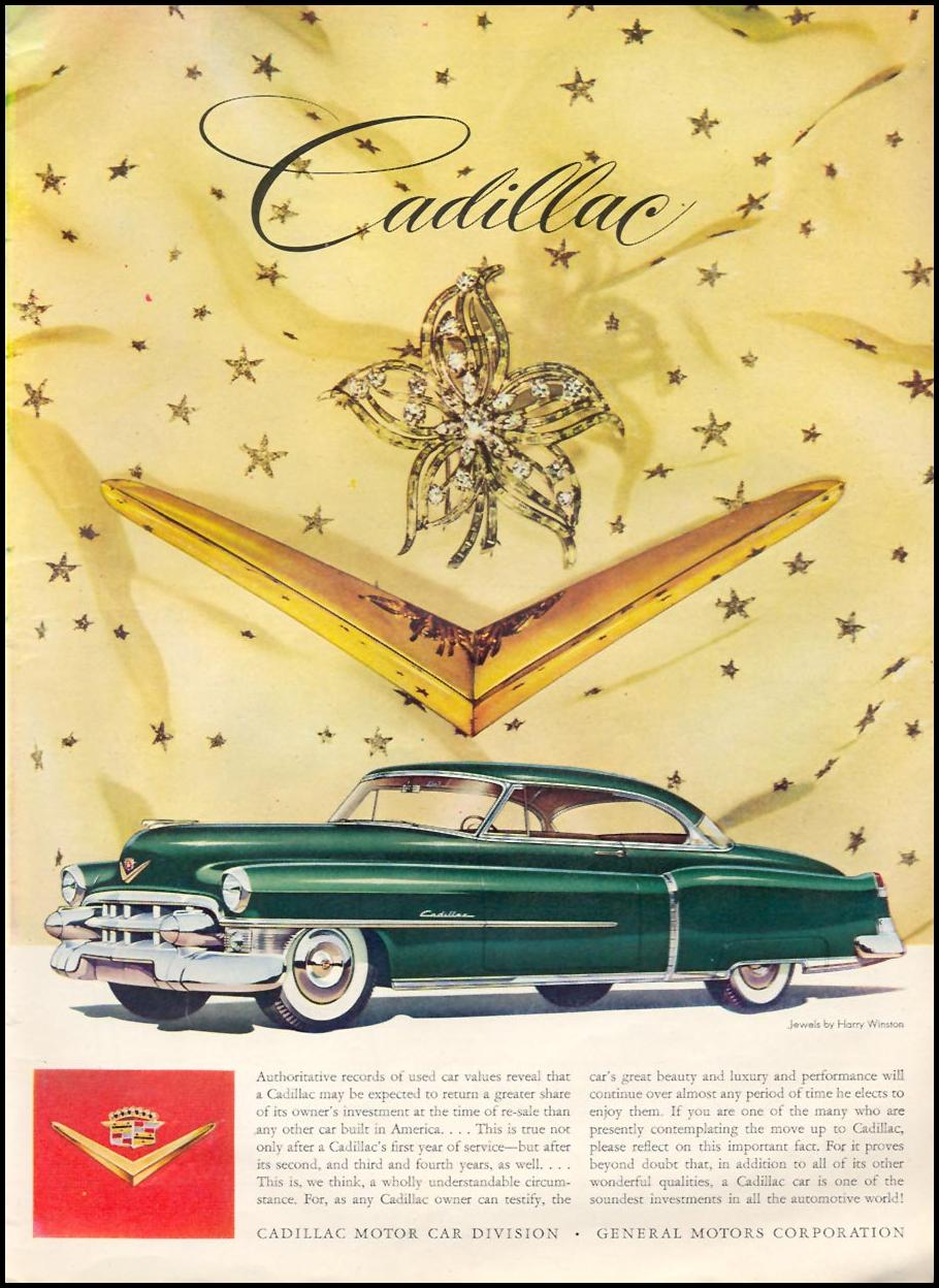 CADILLAC AUTOMOBILES TIME 06/08/1953 p. 37