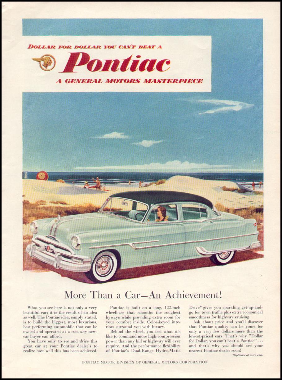 PONTIAC AUTOMOBILES TIME 08/17/1953 p. 39