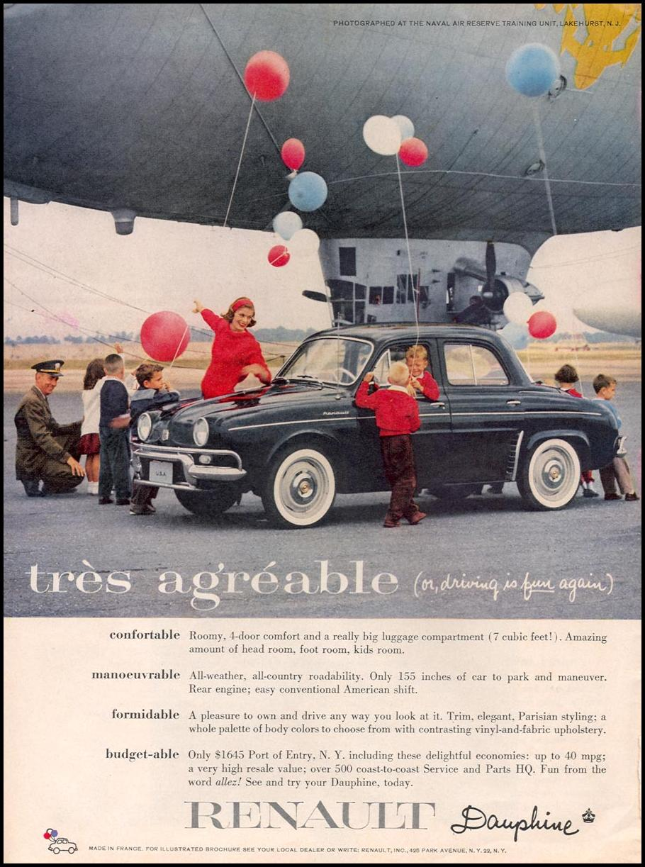 RENAULT DAUPHINE TIME 09/15/1958 p. 40