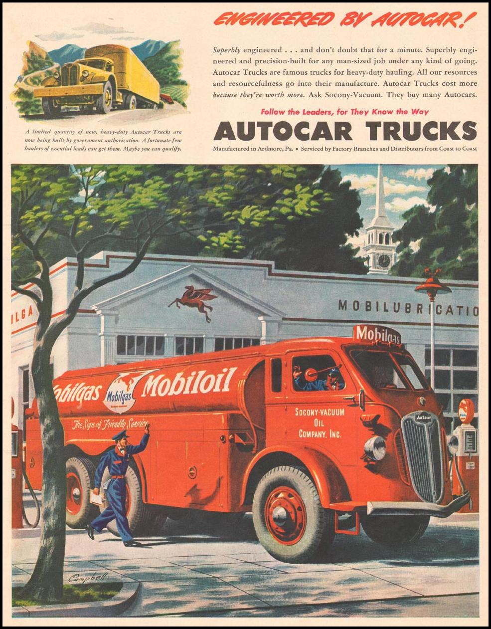 AUTOCAR TRUCKS LIFE 06/04/1941