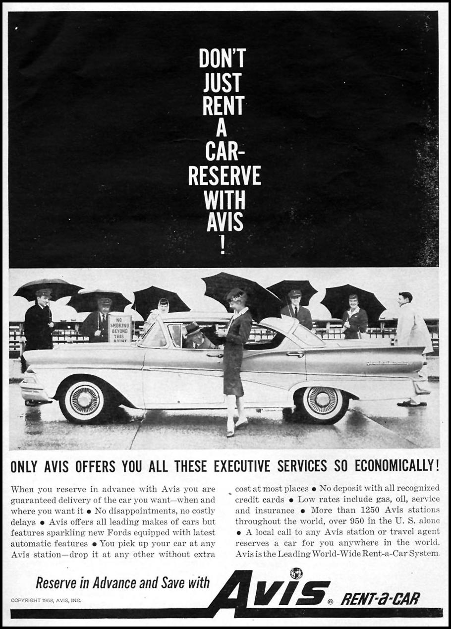 CAR RENTAL TIME 05/05/1958 p. 69