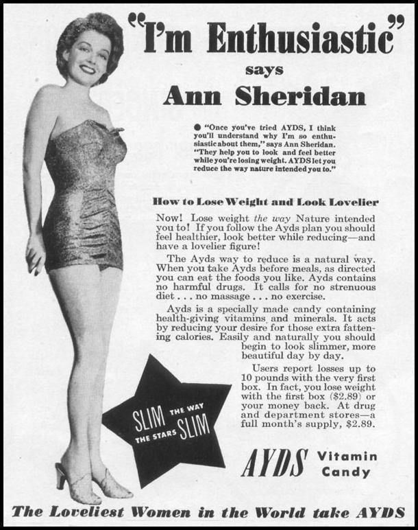 AYDS VITAMIN CANDY LIFE 06/05/1950 p. 126