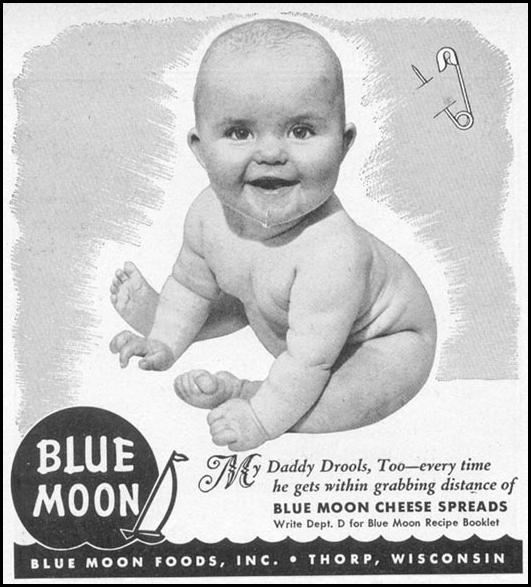BLUE MOON CHEESE SPREADS WOMAN'S DAY 06/01/1946 p. 70