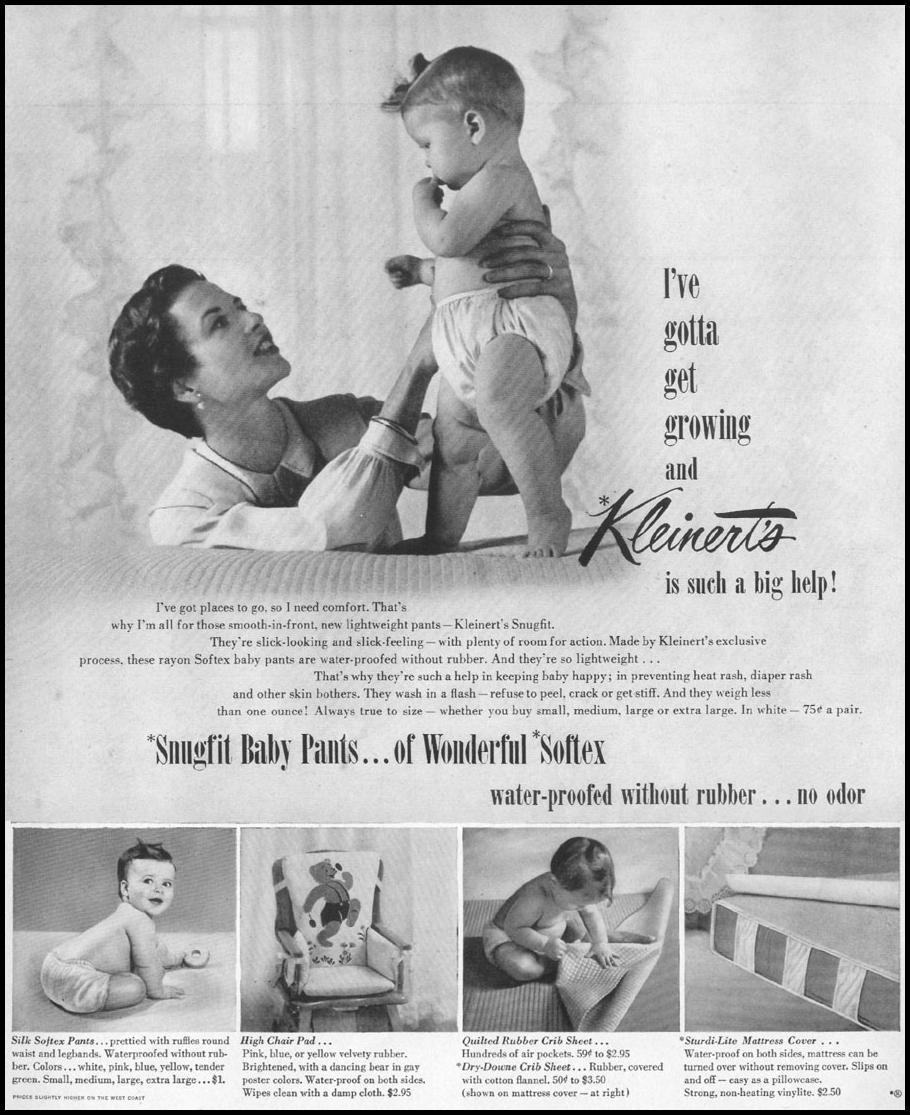 SUNGFIT BABY PANTS LIFE 06/05/1950 p. 77