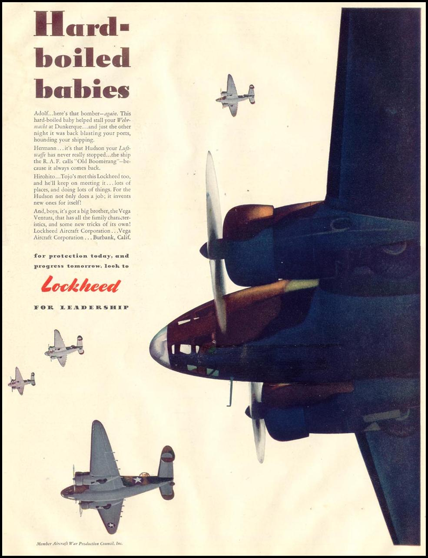 LOCKHEED BOMBERS LIFE 11/30/1942