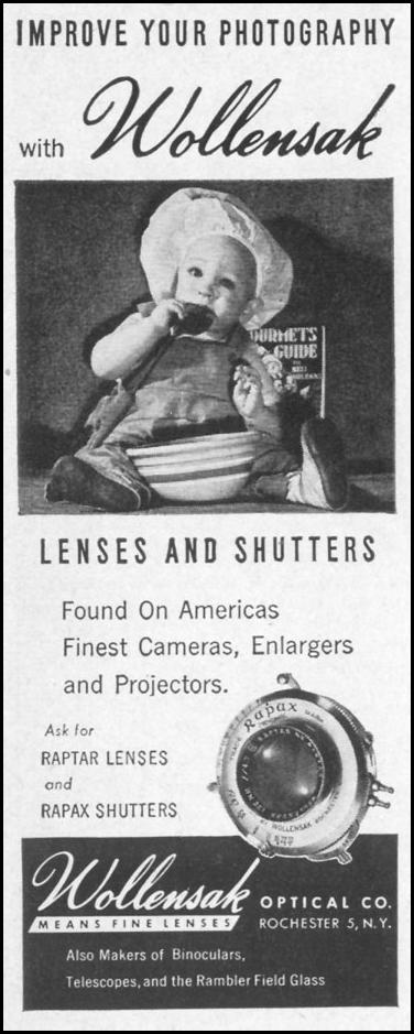 RAPTAR LENSES & RAPAX SHUTTERS