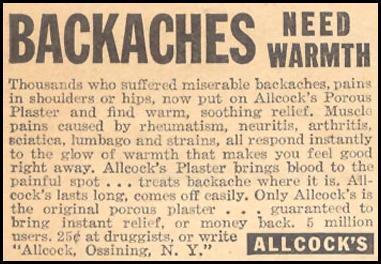 ALLCOCK'S PLASTER LIBERTY 08/08/1936 p. 27