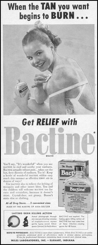 BACTINE ANTISEPTIC LIFE 07/12/1954 p. 70