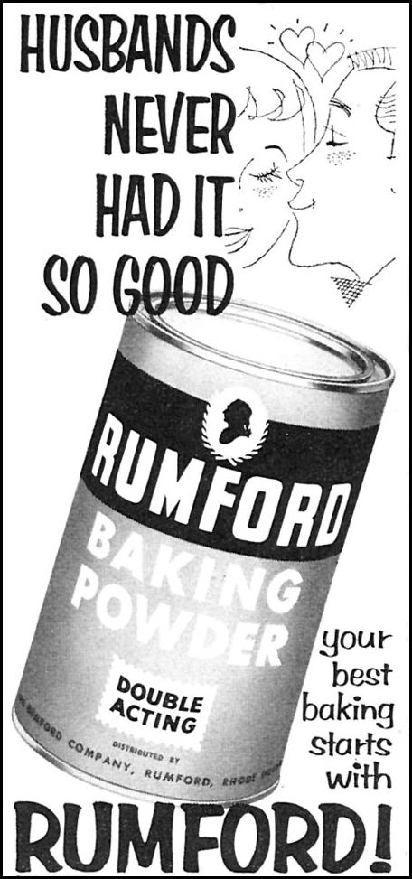 RUMFORD BAKING POWDER FAMILY CIRCLE 02/01/1957 p. 2