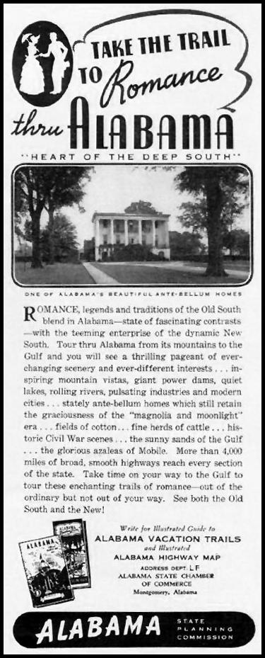 ALABAMA VACATIONS LIFE 12/16/1940 p. 72