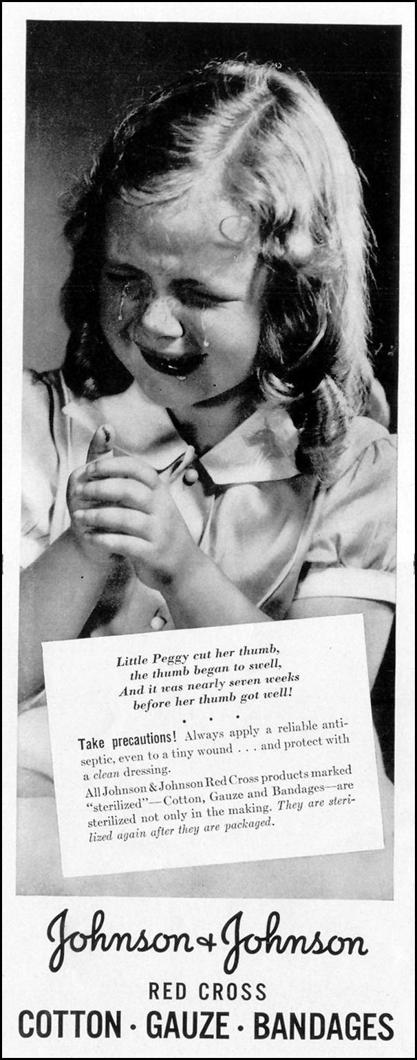 BAND-AID BRAND ADHESIVE BANDAGES LIFE 08/30/1937 p. 84