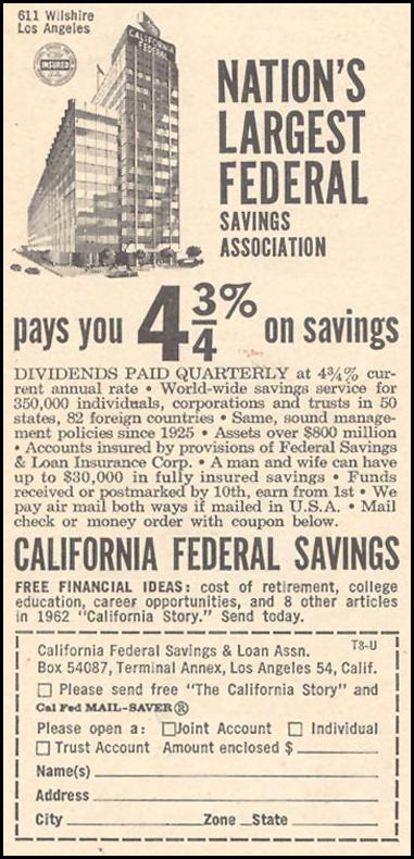 SAVINGS AND LOAN TIME 12/07/1962 p. 78