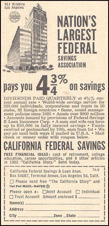 SAVINGS AND LOAN TIME 12/07/1962 p. 78