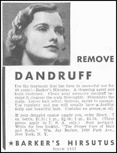 BARKER'S HIRSUTUS GOOD HOUSEKEEPING 03/01/1935 p. 222